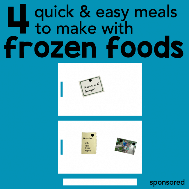 4 quick and easy meals to make with frozen foods square