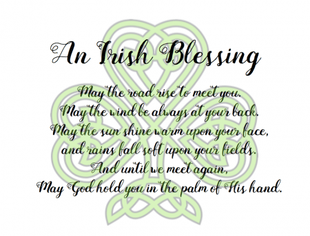 picture regarding Printable Irish Blessing known as March Mini Blessing Luggage (with totally free printable) - I Can Coach