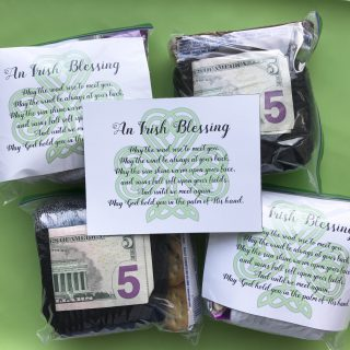 March Mini Blessing Bags (with free printable)