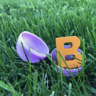 Alphabet Easter Egg Hunt & Match
