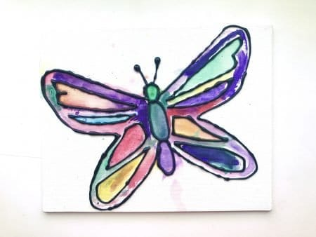 Butterfly Watercolor Art