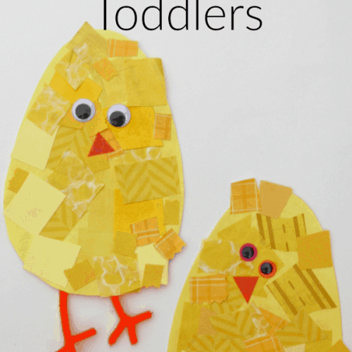 Snippy Chicks: Scissor Skill Spring Craft for Toddlers