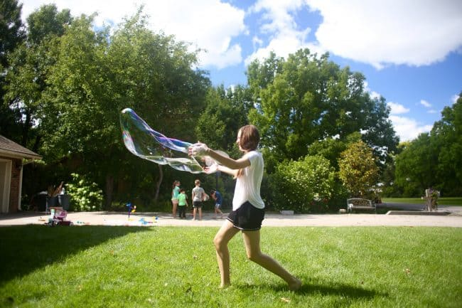 Summer Giant Bubbles