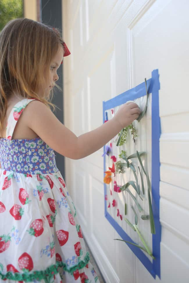 Outdoor Sticky Mural For Toddlers I Can Teach My Child