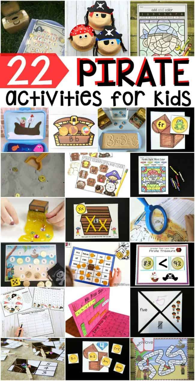 22 Pirate Activities for Kids