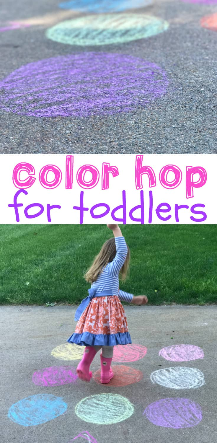 Color Hop for Toddlers - I Can Teach My Child!