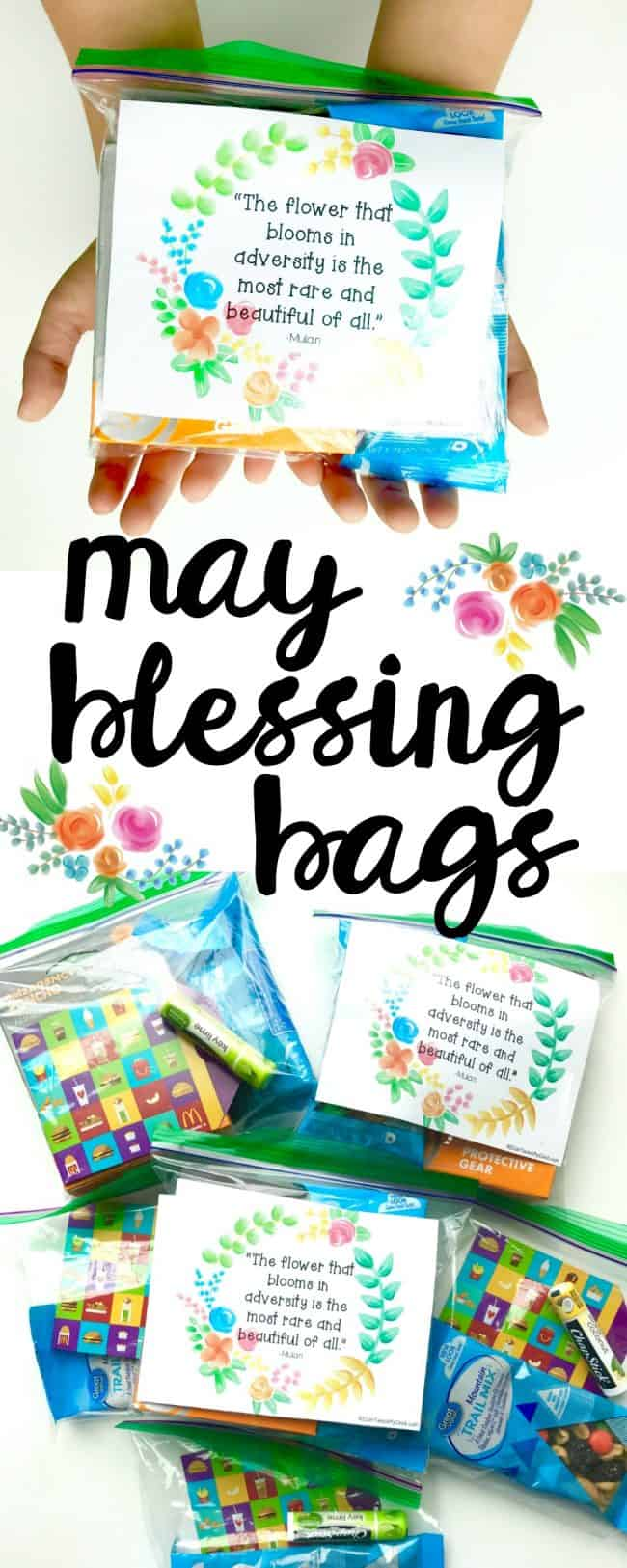 May Blessing Bags