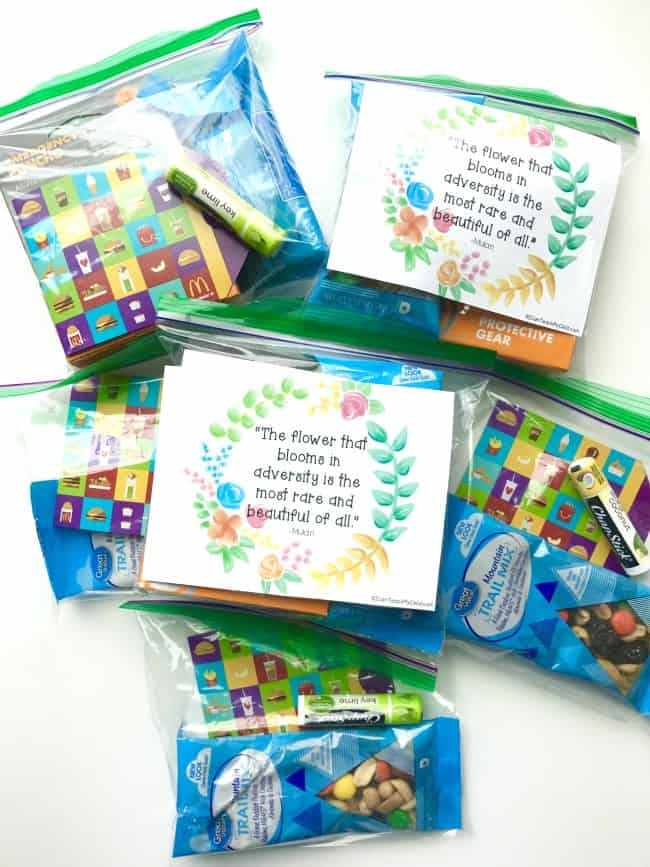 May Blessing Bags and free printable