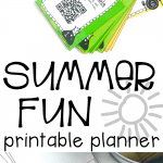 Interactive Summer Fun Printable Planner:  50+ Summer Activities for Kids