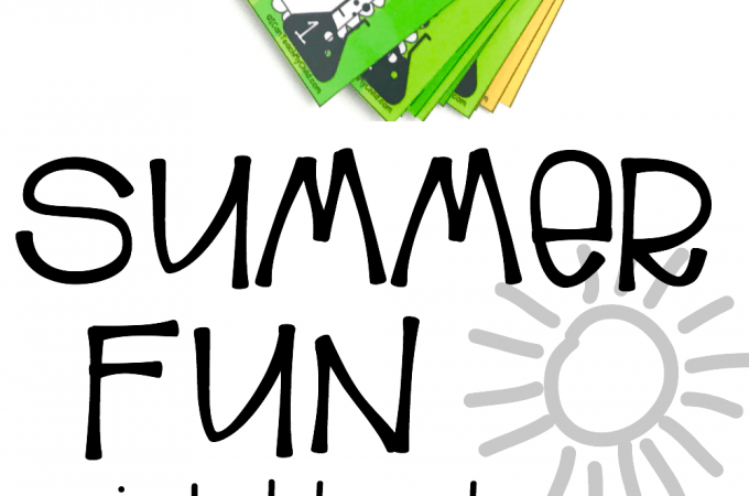 Summer Fun Printable Planner