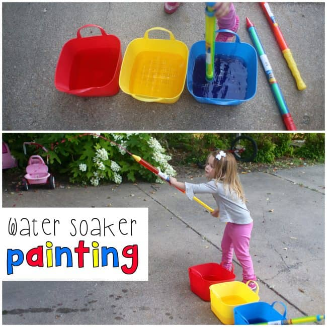 Water Soaker Painting