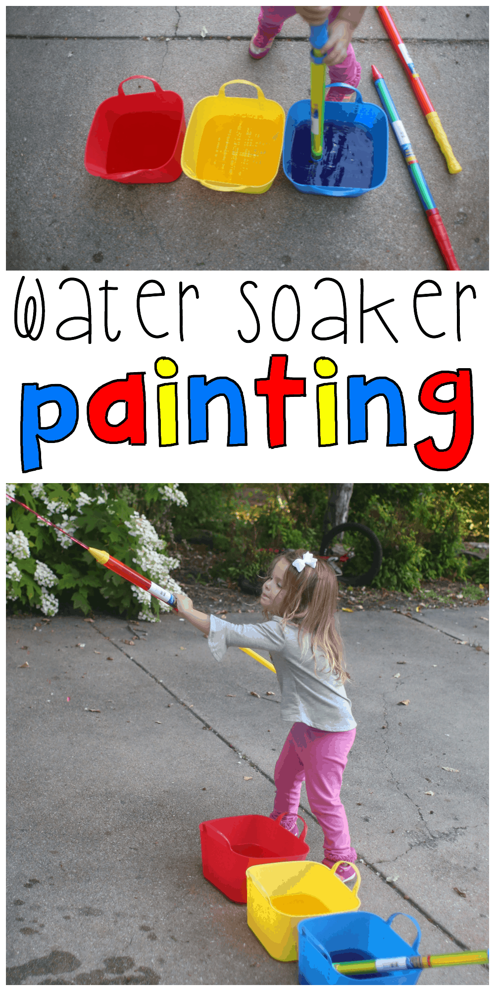 water soaker painting for toddlers i can teach my child