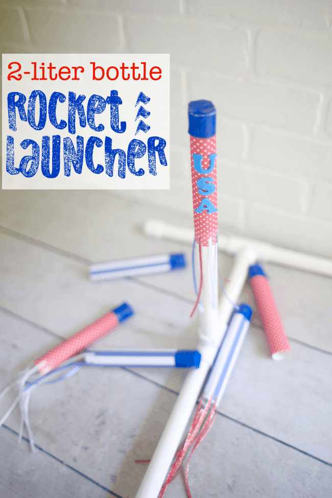 2-liter bottle Rocket Launcher