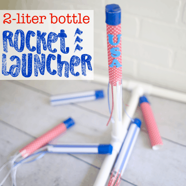 DIY Rocket Launcher with 2-liter bottle