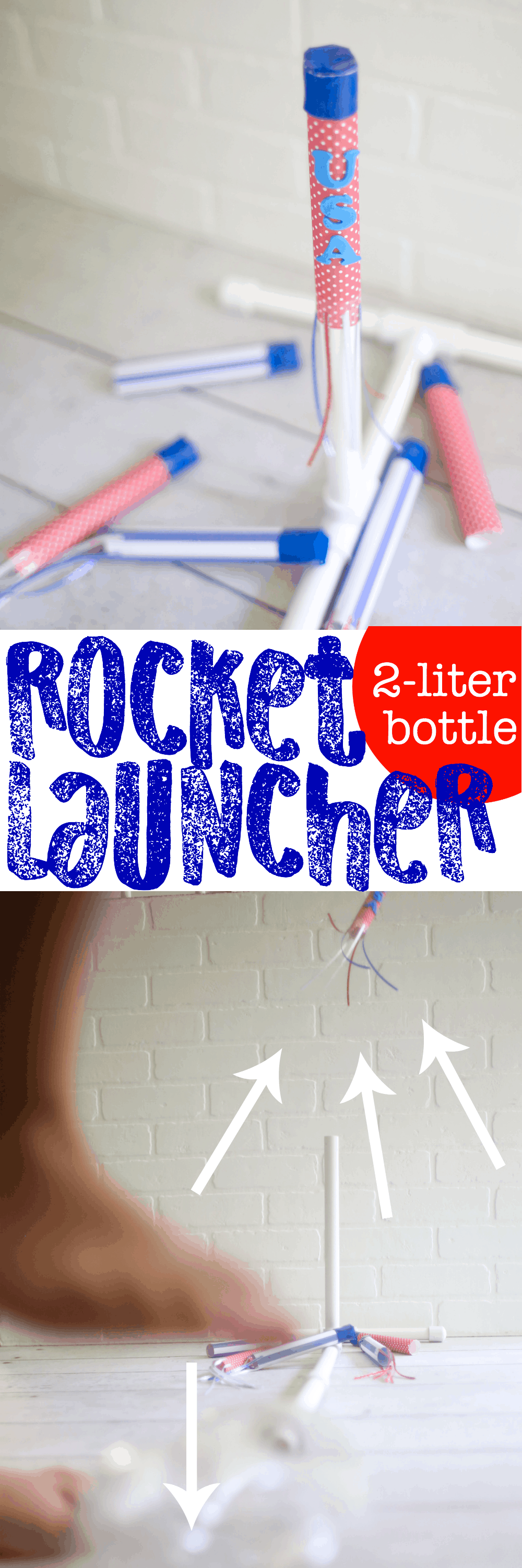 how to build a 2 liter bottle rocket launcher