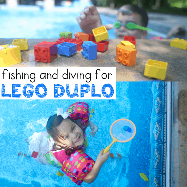 Diving and Fishing for LEGO DUPLO