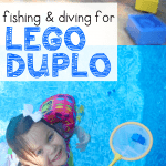 Diving and Fishing for LEGO