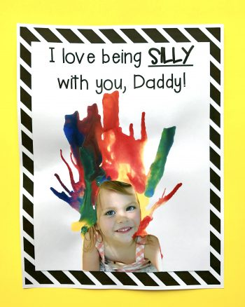 I Love Being Silly with You, Daddy