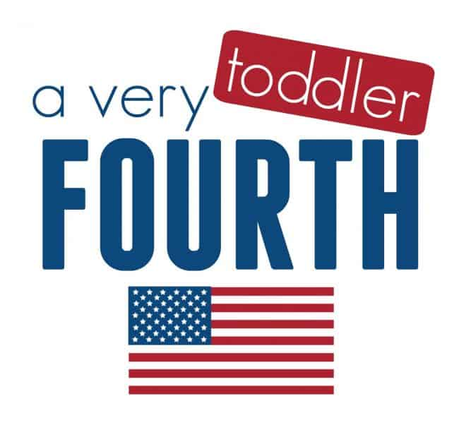 a very toddler fourth