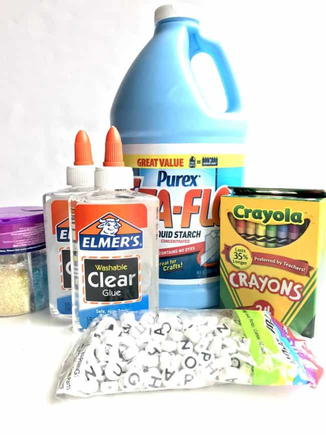 Back to School Slime Supplies