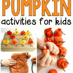 31 Days of Pumpkin Activities for Preschoolers