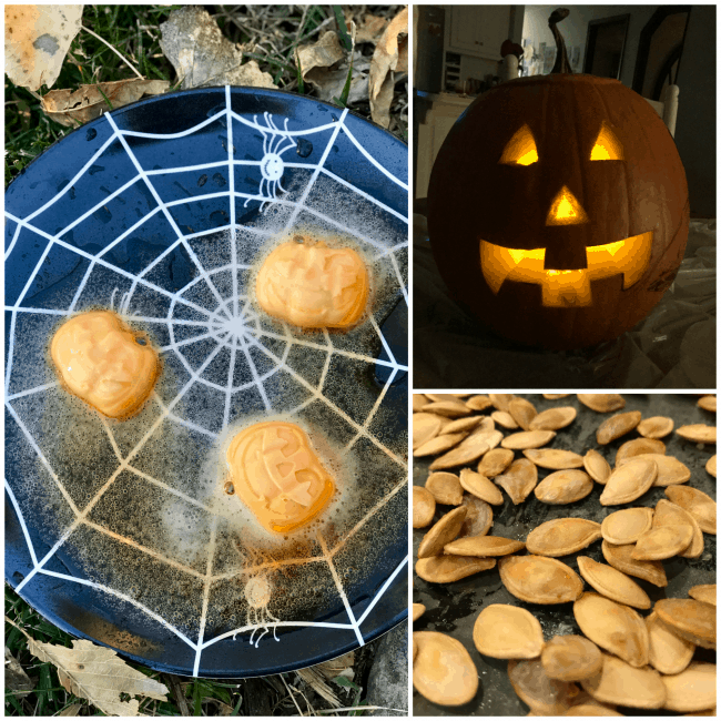 Fizzy Pumpkins, Carving Pumpkins, Roasted Pumpkin Seeds