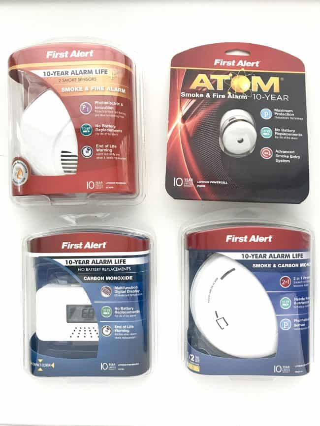 First Alert 10 Year Smoke Alarm