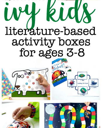 Ivy Kids Literature-based Activity Boxes for ages 3-8