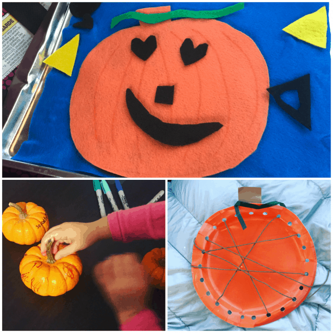 Pumpkin Activities: Kindness Pumpkins, Pumpkin Lacing