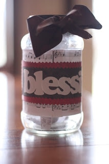 blessing jar - count your blessings