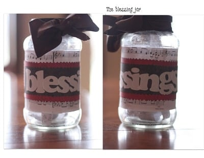 Blessings Jar How To Start One In Your Family I Can Teach My Child