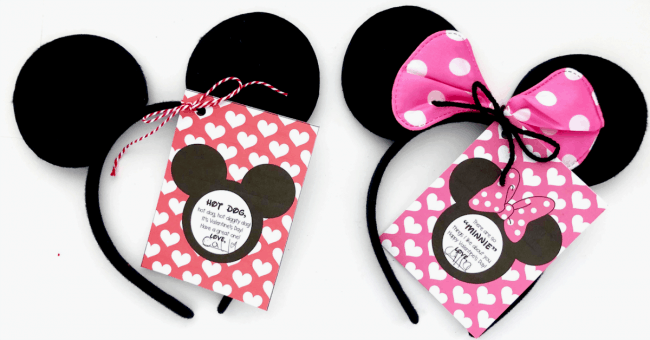 mickey mouse valentine and minnie mouse valentine