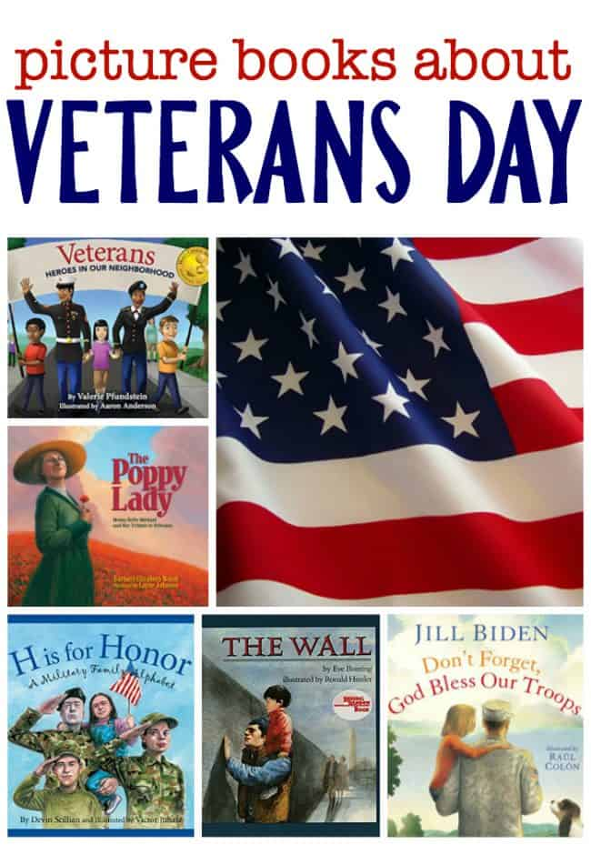 Picture Books About Veterans Day I Can Teach My Child
