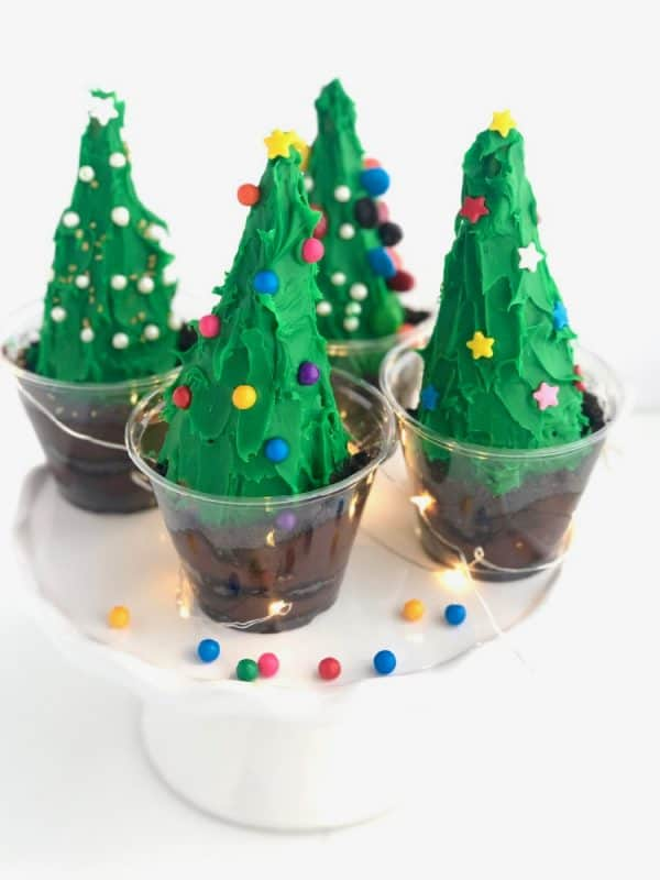 Christmas Tree Dirt Cups
