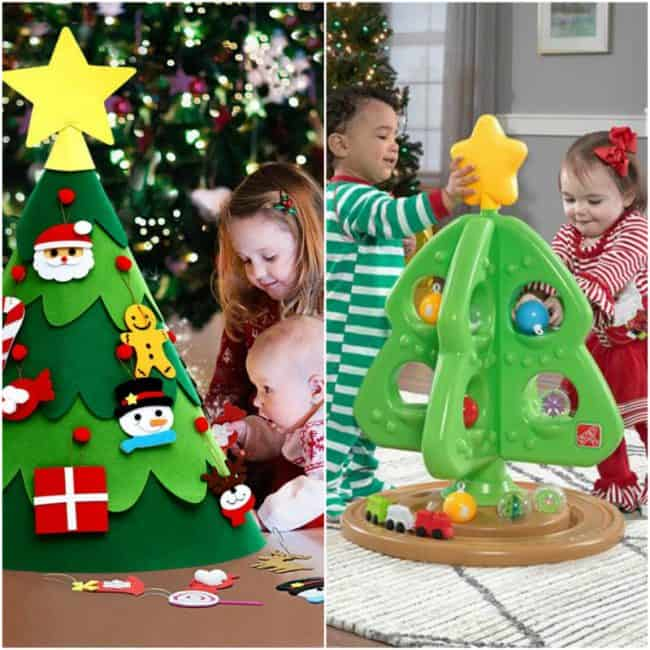 Ready-Made Christmas Trees for Toddlers