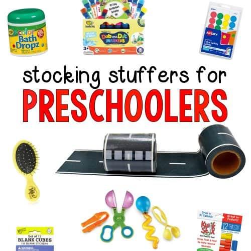 Stocking Stuffers for Preschoolers