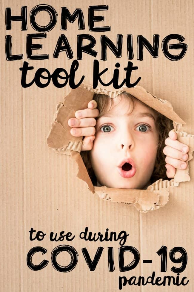 Home Learning Tool Kit to use During Coronavirus Pandemic