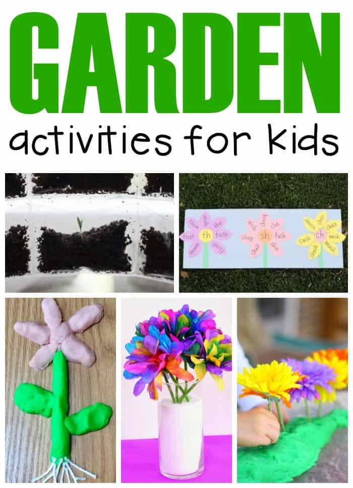 Garden Activities for Kids:  A Weekly Plan