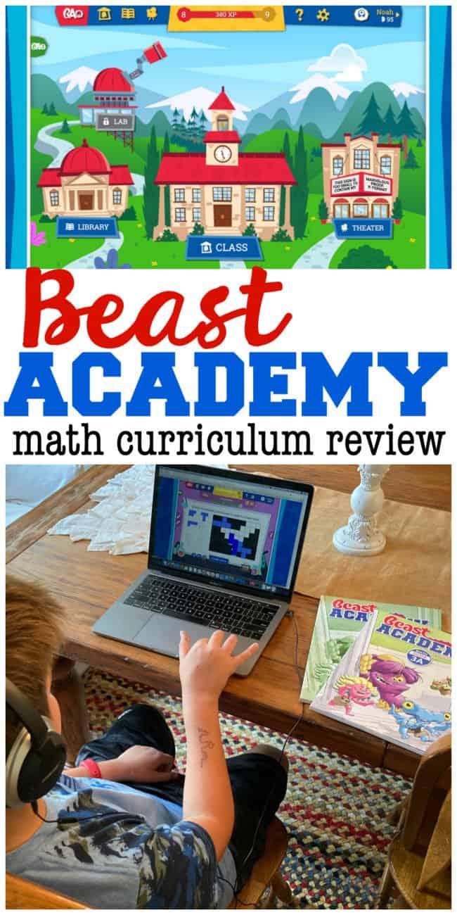 Beast Academy Review Math Curriculum for Upper Elementary