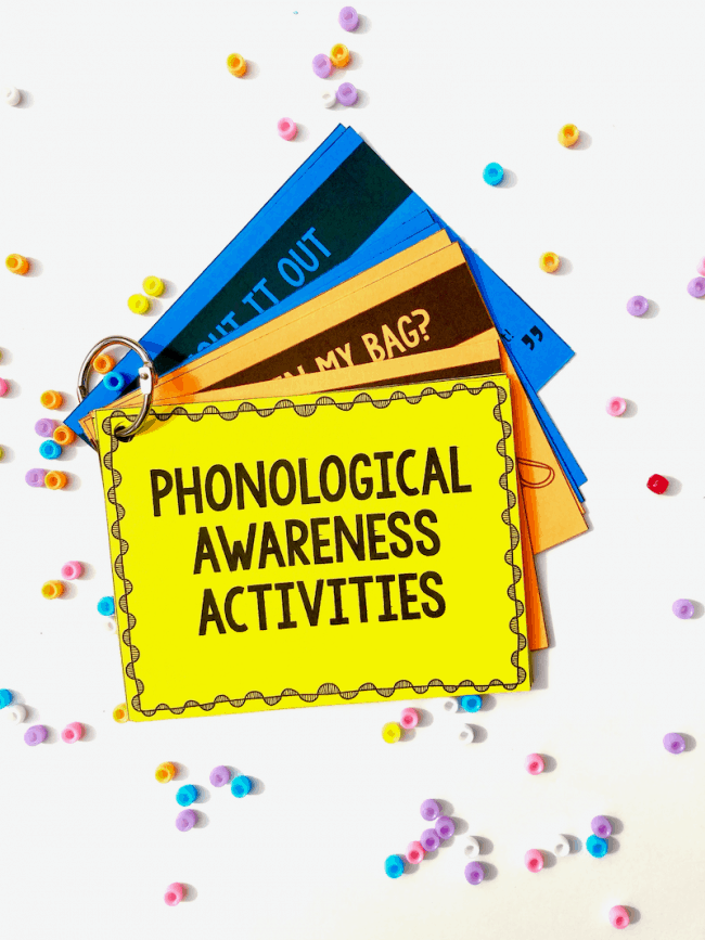 Phonological Awareness Activities for Preschool