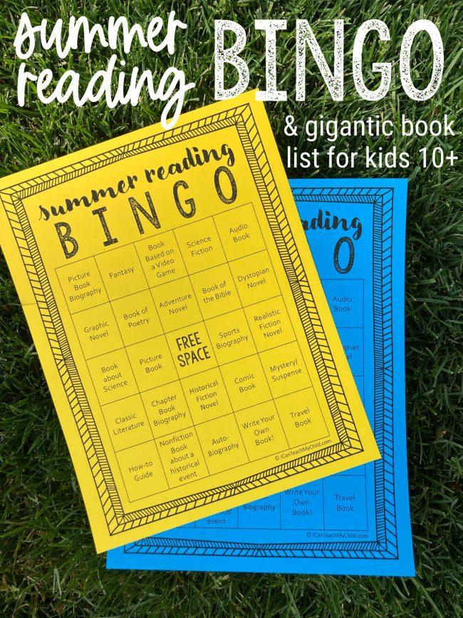 Summer Reading BINGO for older kids scaled e1620259913365
